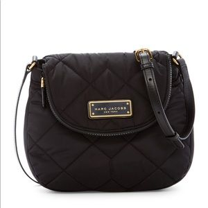 Marc Jacobs Black Quilted Mini Messenger bag